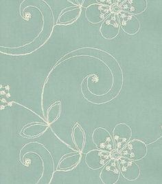 Upholstery Fabric- Waverly Candlewicking Classic/Mist: home decor fabric: fabric: Shop   Joann.com