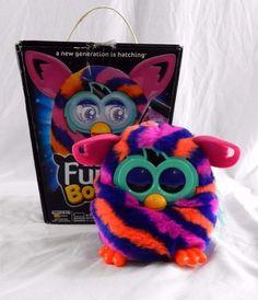 FURBY BOOM Pink Purple Orange Diagonal Works w/iPad iPhone iPod 2013 #Furby