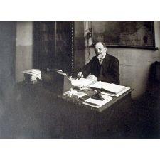 Ecole Normale d'Instituteurs du Calvados - Caen- 1930 , le Bureau du Directeur.