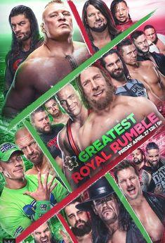 Greatest Royal Rumble 2018 PPV John Cena Wwe Champion, Wwf Poster, Wwe Ppv, Raw Wwe, Chris Benoit, Wrestling Posters, Shane Mcmahon, Eddie Guerrero, Nxt Takeover