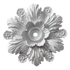 14-3-8-OD-x-1-ID-x-2-3-4-P--Ceiling-Medallion--Beaumont--Fits-Canopies-up-to-2-1-2-- - CM15BM - $20.48