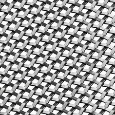 Banker Wire is a simple, small scale, flat wire woven wire mesh pattern. The smooth and gentle shape of the wires weave in and out from each other to form a basket style mesh. Using a flat wire instead of a tradi. Metal Net, Wire Mesh, Wire Weaving, Textures Patterns, Bronze, Smooth, Evernote, Cabinet Hardware, Kitchens