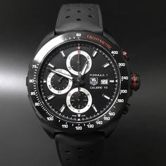 Tag Heuer Formula 1 Calibre 16 Chronograph PVD. #watchporn #watchmania #wristwatch #watchoftheday #timepiece #secondhand #instawatch #secondoriginalwatch #jamtanganseken #preownedwatch #luxurywatch. www.mulialegacy.com