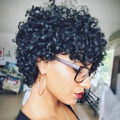 Short-Curl stunned by @aimskyy!➰⚡️ #curlspiration #hairspiration #naturalhair…