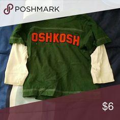 Kids long sleeve shirt by Oshkosh size 2t Kids long sleeve shirt Osh Kosh Shirts & Tops Tees - Long Sleeve