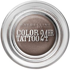 Maybelline 24hr color tattoo eye shadow. Cream shadow that DOESN'T CREASE!!!!!!