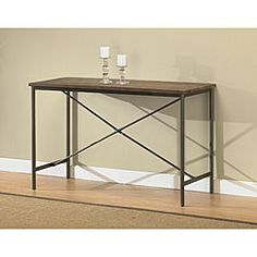 Elements Cross-design Grey Coffee Table | Overstock.com Shopping - Great Deals on Coffee, Sofa & End Tables