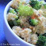 The Kitchen Shed - Clean Eating 'Cheesy' Chilli Broccoli Quinoa #cleaneatingukrecipes #eatcleanuk