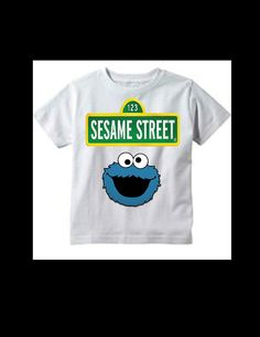 SESAME STREET Cookie Monster t-shirt add by SAVVYCOUNTRYDESIGNS