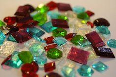 Sugar Jewels Sugar Gems for cake decorating by ACakeToRemember, $7.00