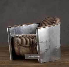 Aviator Chair - for the man cave someday...