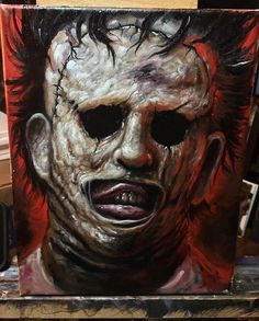 Leatherface by Zack Dunn
