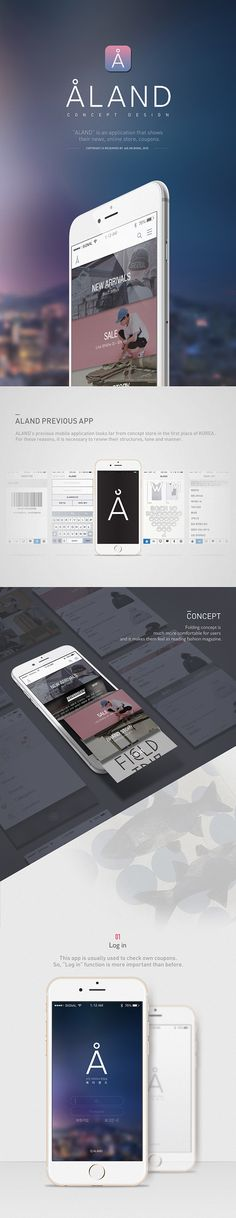 [Ui/Ux] aland mobile application redesign on behance. Web Design, App Ui Design, Site Design, Flat Design, Gui Interface, Interface Design, Best Mobile Apps, Mobile Ui, Application Design