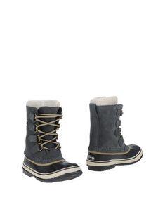 SOREL Women's Ankle boots Steel grey 10.5 US