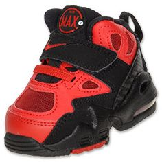 Nike Air Max Express Toddler Training Shoes  Black/Sport Red