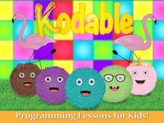 Kodable. Ipad app introducing coding concepts & problem solving.