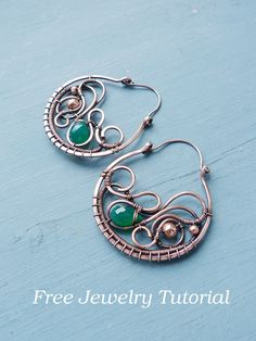 DIY project - Large earring tutorial by UrsulaJewelry