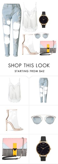 """Untitled #10"" by anetahavlikova on Polyvore featuring Givenchy, WithChic, Christian Dior, Iceberg and Olivia Burton"