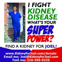 PFKidney Kidney Donor, Kidney Disease, Save My Life, Text Me, Super Powers, Healthy Living, Campaign, Content, Wealth