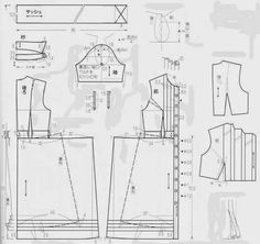 dresses (Chinese method of pattern making) - SSvetLanaV - Picasa Web Albums.linea A
