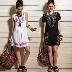 Sophya Ropa Verano 2016 - Estilo Folk e Indio en Vestidos, Blusas, Pantalones y más - El Bazar