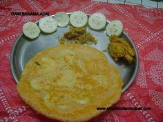 Raw Banana Adai   Simple Indian Recipes