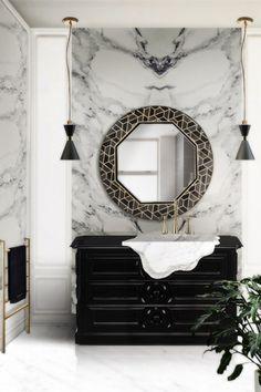 Se avere un bagno pieno di marmo è il tuo sogno, il pannello artistico Cross Grey è la scelta perfetta.