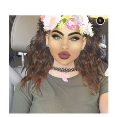 """""""Fooling around on Snapchat."""" by miss-nylaperez ❤ liked on Polyvore featuring art"""