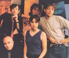 Jarvis Cocker (Pulp), Sice Rowbottom (The Boo Radleys), Louise Wener (Sleeper) and Damon Albarn (Blur)