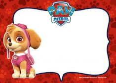 FREE Printable Paw Patrol Baby Shower and Birthday Invitation   FREE Printable Baby Shower Invitations Templates Paw Patrol Birthday Invitations, Free Printable Birthday Invitations, Baby Shower Invitation Templates, Girl Paw Patrol Party, Dog Themed Parties, Paw Patrol Coloring Pages, Paw Patrol Characters, Free Printables, Free Paw Patrol Printables