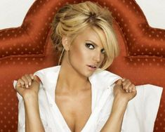 loose long hair updo | Get A Glimpse of Celebrity Hairstyles With 24 Jessica Simpson Hairdo ...