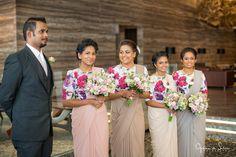Sri Lankan fashion Bridesmaid Colours, Bridesmaids, Bridesmaid Dresses, Wedding Dresses, Sri Lankan Bride, Christian Bride, Grooms, Color Themes, Swatch