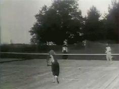 Anastasia & Maria playing tennis.