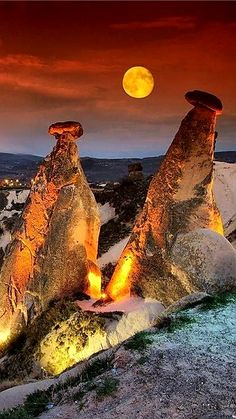 what about turkey in november check capodocia turkey esky eskyinspirations - Life ideas Beautiful Moon, Beautiful World, Beautiful Places To Visit, Places To See, Easy Jet, Padre Celestial, Cappadocia Turkey, Earth Photos, Moon Pictures