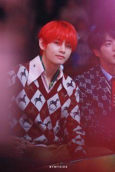 jungkook must be whipped bc of him cr: ByMySide_KookV Daegu, Taehyung Red Hair, Kim Taehyung, K Pop, Taekook, Seokjin, Namjoon, Seoul, V And Jin