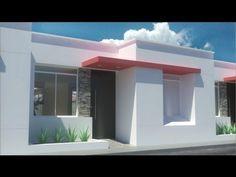 casa moderna de 7.00m x 15.00m, un piso