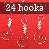 Pack of 48 silver wire diamond beaded ornament hooks. Around 2 inches long. Use year round for photo ornaments. Photo Christmas Ornaments, Christmas Photos, Christmas Crafts, Christmas Decorations, Christmas Ideas, Holiday Decor, Ornament Hooks, Beaded Ornaments, Photo Jewelry