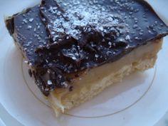 Karamel & Chocolade blokken mét zeezout Recept:http://www.chindeep.com/2010/12/02/caramel-chocolate-squares-with-sea-salt/