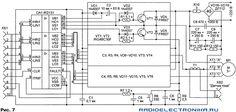 Схема Преобразователь напряжения с рег. частотой для трёхфазного асинхронного электродвигателя 7