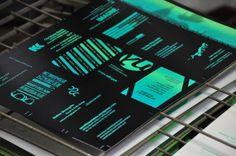 in tind we trust / random business card print / Ver 2.0 by tind , via Behance