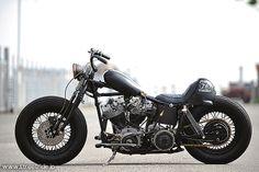 IRONS MOTORCYCLE / ハーレーダビッドソン 1976 SHOVEL プロが造るカスタム 【STREET-RIDE】ストリートバイク ウェブマガジン