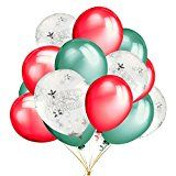 Review for 15 pcs Merry Christmas Printed White Snowflakes Confetti Balloons with 12 inches... - Melissa Warren - Blog Booster