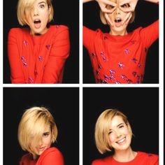 Agyness Deyn in the photobooth at Empire - love her hair Cute Hairstyles For Short Hair, Quick Hairstyles, Hairstyles Haircuts, Hair Styles 2014, Curly Hair Styles, Short Blunt Haircut, Blunt Bob, Agyness Deyn, Blonder Bob