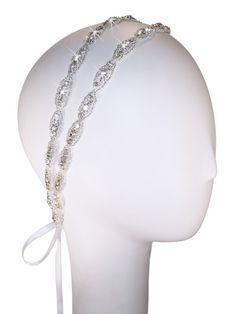 Hanne Double Band Crystal Headband
