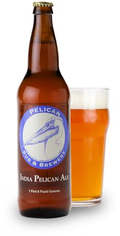 "Pelican Brewery - India Pale Ale: I have never tasted anything sooooo ""piney"", even more so than gin"
