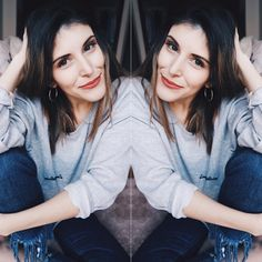 "56 Gostos, 4 Comentários - D I A N A  L O P E S (@dianabelix) no Instagram: ""Love & Gratitude sweater and @_minttgreenn_ earrings 🦄🦄🦄"""