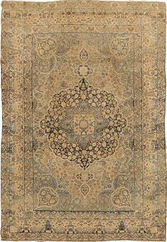 Antique Kerman Lavar Persian Rug #43964 http://nazmiyalantiquerugs.com/antique-rugs/persian-antique-rugs/