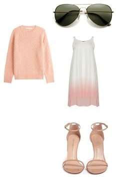 """Untitled #131"" by egracelett-i on Polyvore featuring Vanessa Bruno and Stuart Weitzman"