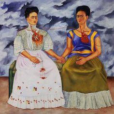 Frida Kahlo, el mito y el pan de muerto (ESP) – EATING ARTS Frida E Diego, Diego Rivera Frida Kahlo, Frida Art, Fridah Kahlo, Frida Kahlo Portraits, Frida Kahlo Artwork, Kahlo Paintings, Paintings Famous, Mexican Art