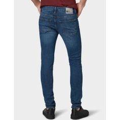 Tom Tailor Denim Herren Culver Skinny Jeans, blau, unifarben, Gr.33/32 Tom TailorTom Tailor